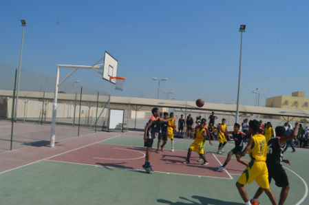 Activities the asian school bahrain for Built in basketball court